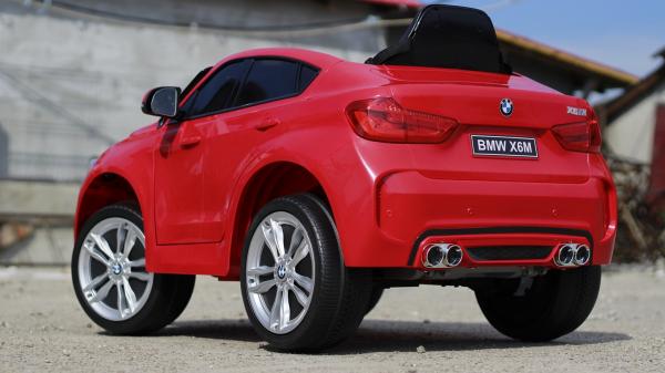Masinuta electrica BMW X6 premium pentru copii, rosie 4