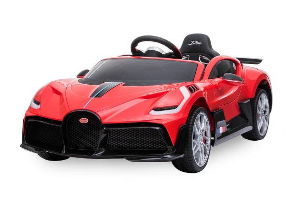 Kinderauto Buggati Divo 2x45W 12V PREMIUM #Rosu 0
