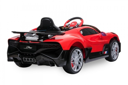 Kinderauto Buggati Divo 2x45W 12V PREMIUM #Rosu 1