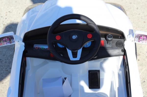 Masinuta electrica F-2000 15W STANDARD #Alb 7