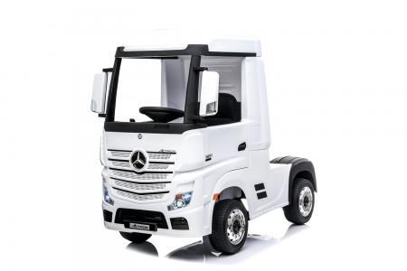 Kinderauto Mercedes ACTROS 4x4 PREMIUM 4x45W #Alb 0
