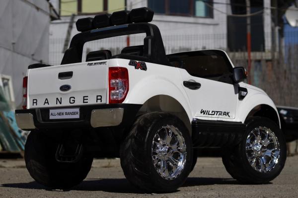 Masinuta electrica Ford Ranger 4x4 cu ROTI MOI 4x45W #ALB 4