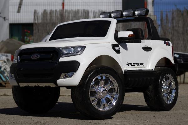 Masinuta electrica Ford Ranger 4x4 cu ROTI MOI 4x45W #ALB 2