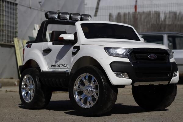 Masinuta electrica Ford Ranger 4x4 cu ROTI MOI 4x45W #ALB 3