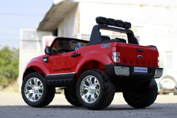 Masinuta electrica Ford Ranger 4x4 PREMIUM 4x35W #Rosu 7