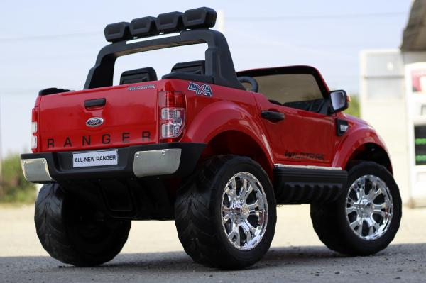 Masinuta electrica Ford Ranger 4x4 PREMIUM 4x35W #Rosu 6