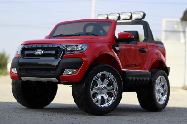 Masinuta electrica Ford Ranger 4x4 PREMIUM 4x35W #Rosu 2