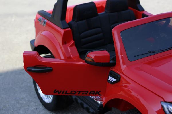 Masinuta electrica Ford Ranger 4x4 PREMIUM 4x35W #Rosu 4