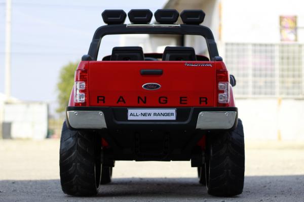 Masinuta electrica Ford Ranger 4x4 PREMIUM 4x35W #Rosu 5