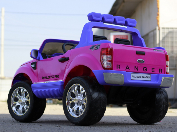 Masinuta electrica Ford Ranger 4x4 180W DELUXE #Roz 5