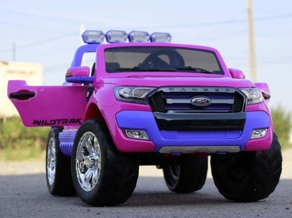 Masinuta electrica Ford Ranger 4x4 180W DELUXE #Roz 3