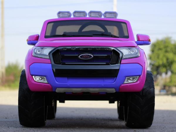 Masinuta electrica Ford Ranger 4x4 180W DELUXE #Roz 1