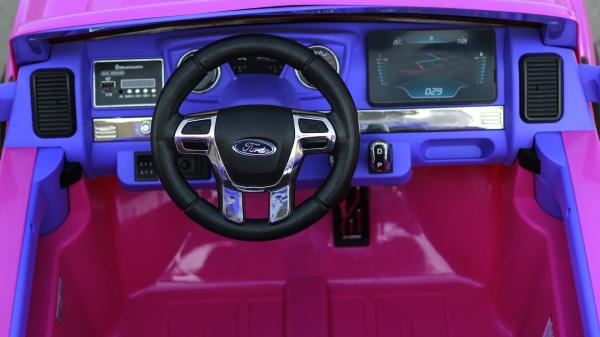 Masinuta electrica Ford Ranger 4x4 cu ROTI MOI 4x45W #Roz 6
