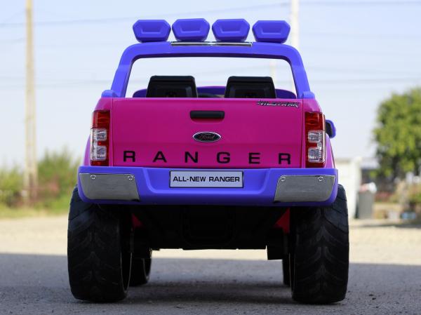 Masinuta electrica Ford Ranger 4x4 cu ROTI MOI 4x45W #Roz 4