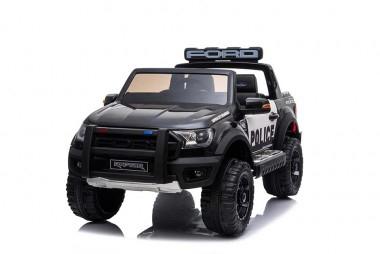 Masinuta electrica Ford Ranger F650 POLICE STANDARD 2x 35W 12V #Negru 1