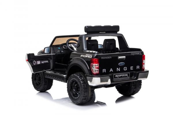 Masinuta electrica Ford Ranger F650 POLICE STANDARD 2x 35W 12V #Negru 7