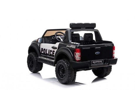 Masinuta electrica Ford Ranger F650 POLICE STANDARD 2x 35W 12V #Negru 2