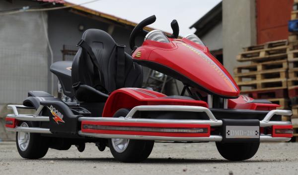 Kart electric Dooma GO! KART 2x 35W 12V STANDARD #Rosu 1