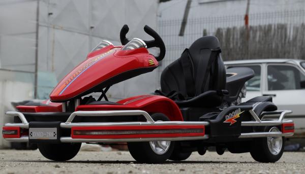 Kart electric Dooma GO! KART 2x 35W 12V STANDARD #Rosu 3
