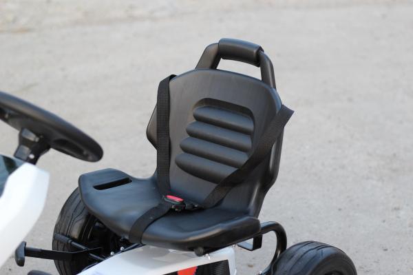 Kinderauto GO Kart cu pedale de la FORD #Alb 5