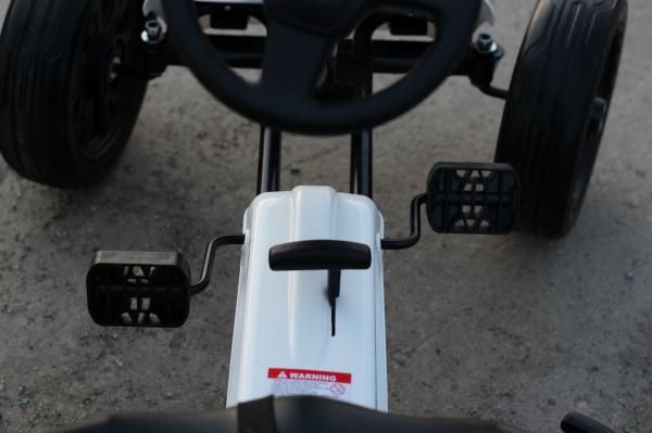 Kinderauto GO Kart cu pedale de la FORD #Alb 6