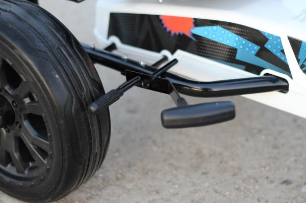 Kinderauto GO Kart cu pedale de la FORD #Alb 3