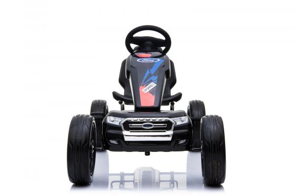 Kinderauto GO Kart cu pedale de la FORD #Negru 1