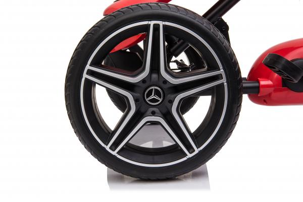 Kinderauto GO Kart cu pedale de la Mercedes #Rosu 3