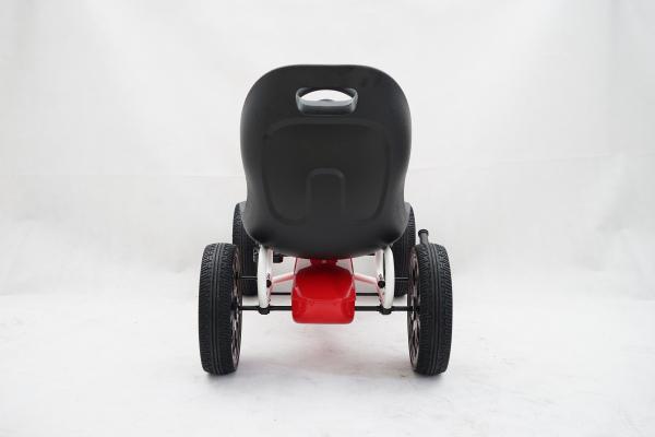 Kinderauto GO Kart cu pedale de la Fiat Abarth #Rosu 2