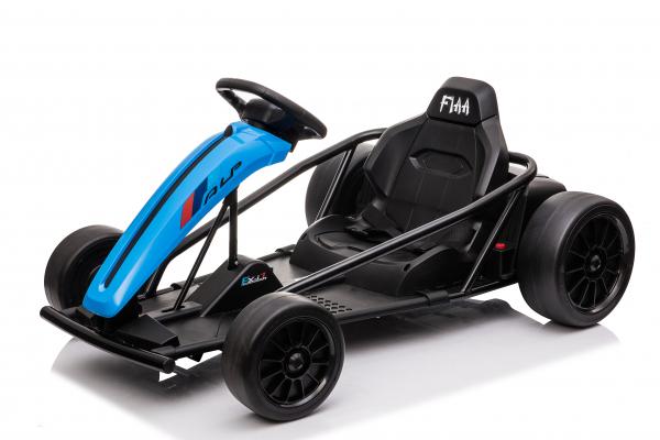 Kart electric copii 3-11 ani SX1968, albastru, 500W [0]