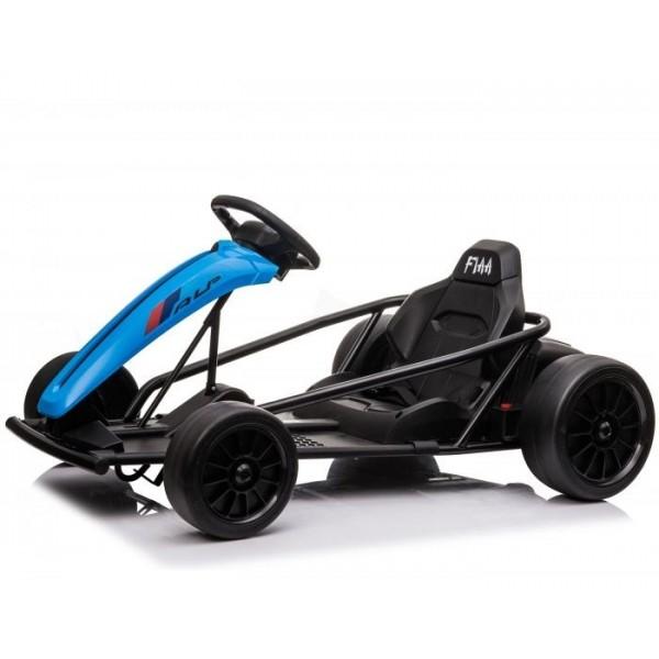 Kinderauto Go Kart electric SX1968 500W 24V CU ROTI MOI #Albastru 1