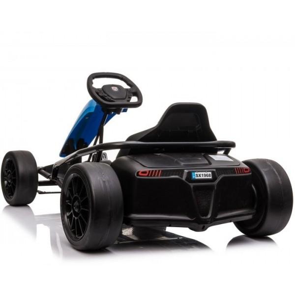 Kinderauto Go Kart electric SX1968 500W 24V CU ROTI MOI #Albastru 3