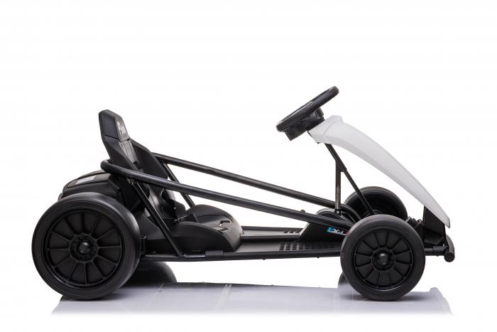 Kart electric copii SX1968, 500W, roti moi, alb [1]