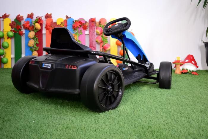 Kart electric copii 3-11 ani SX1968, albastru, 500W [3]