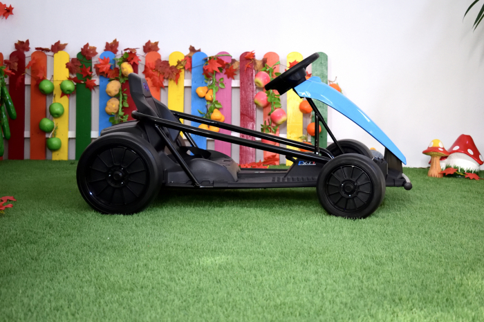 Kart electric copii 3-11 ani SX1968, albastru, 500W [7]