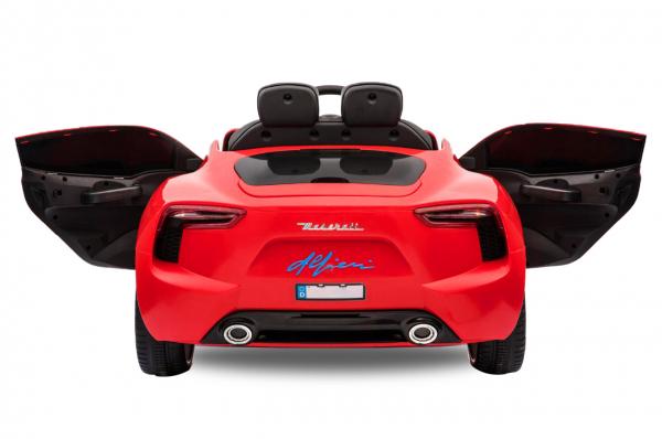 Masinuta electrica Maserati Alfieri STANDARD 12V 2x35W #Rosu 1