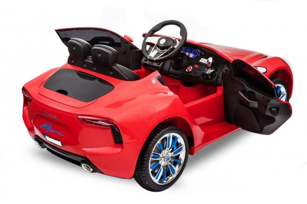 Masinuta electrica Maserati Alfieri STANDARD 12V 2x35W #Rosu 2