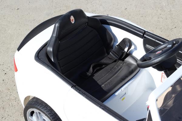 Masinuta electrica Maserati Kids CU ROTI MOI 2x 35W 12V #Alb 9