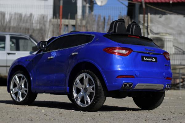Masinuta electrica Maserati Levante 2x35W PREMIUM #Albastru 6