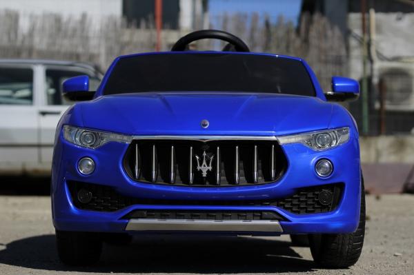 Masinuta electrica Maserati Levante 2x35W PREMIUM #Albastru 1