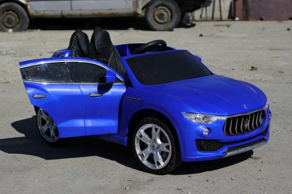 Masinuta electrica Maserati Levante 2x35W PREMIUM #Albastru 4