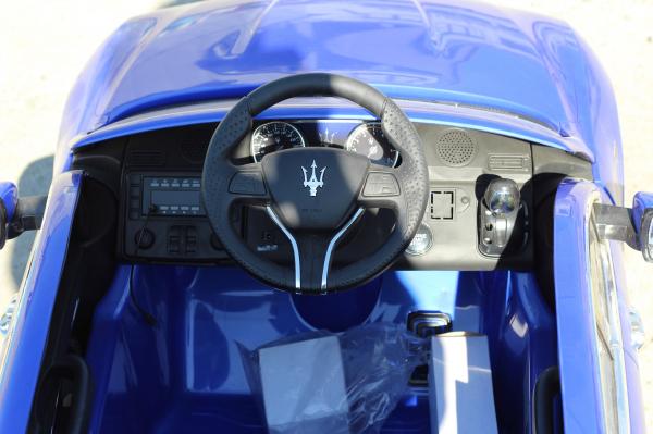 Masinuta electrica Maserati Levante 2x35W PREMIUM #Albastru 7