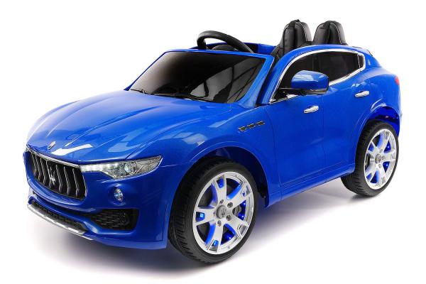Masinuta electrica Maserati Levante 2x35W PREMIUM #Albastru 0