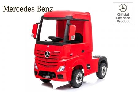 Camion electric Mercedes ACTROS 4x4 180W 12V PREMIUM #Rosu 0