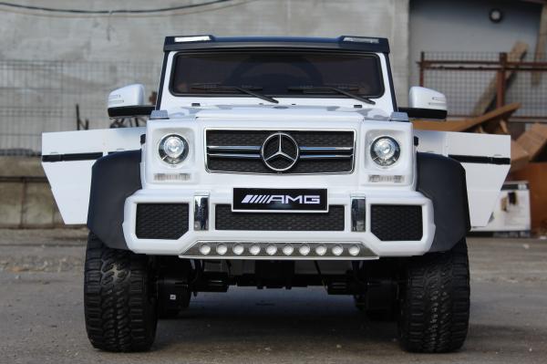 Masinuta electrica Mercedes G63 6x6 Premium #ALB 1