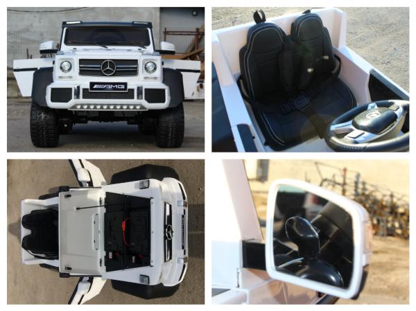 Masinuta electrica Mercedes G63 6x6 Premium #ALB 9