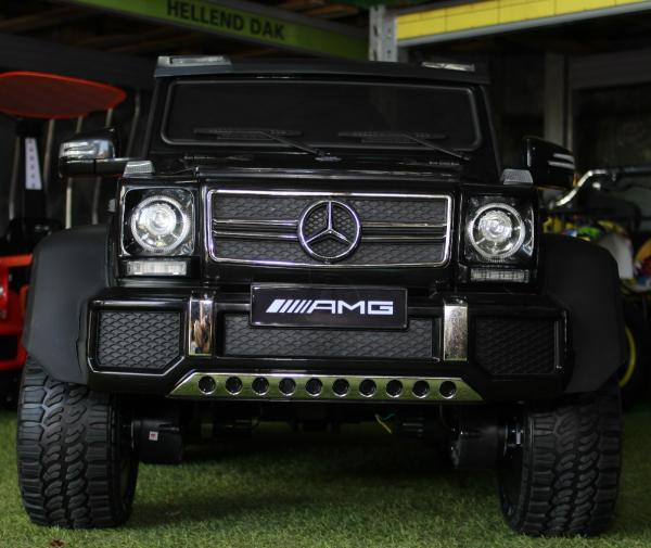 Masinuta electrica Mercedes G63 6x6 270W Premium #Negru 1
