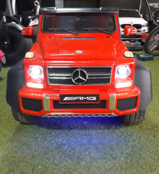 Kinderauto Mercedes G63 6x6 Premium #Rosu 6
