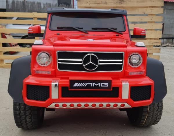 Kinderauto Mercedes G63 6x6 Premium #Rosu 9