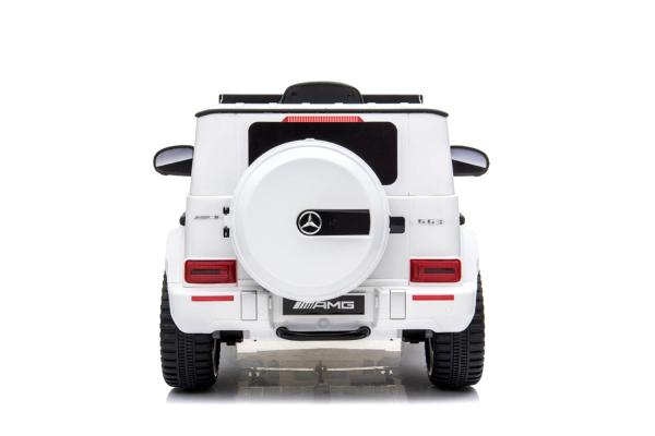 Kinderauto Mercedes G63 AMG 2x25W STANDARD #Alb 1